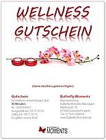 Wellness gutschein  Wellness Massage Gutschein - Butterfly-Moments Düsseldorf Kaarst